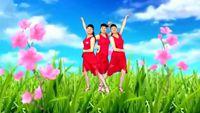 舞韻含香廣場舞《妹妹比花俏》 編舞:范范 正背面演示及口令分解動作教學和背面演