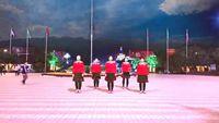 安國小敏廣場舞《你幸福我才快樂》集體版 正反面演示及分解動作教學