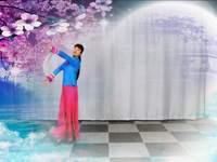 锦瑟舞语舞蹈 月落泉 表演 正背面口令分解动作教学演示