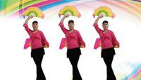繁星明月廣場舞【中國歌最美】原創附教學 經典正背面演示及口令分解動作教學