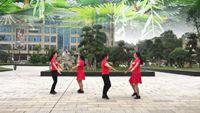 貴州開心廣場《哥哥妹妹》原創對跳16步水兵舞附教學 附正背表演口令分解動作分解教學