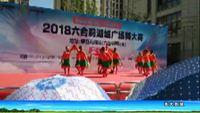 龙湖金茉莉舞蹈队《筷子舞银色的毡房》 原创附正背面教学口令分解动作演示