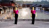 桂華廣場舞《花樓戀歌》編舞鳳凰六哥 原創附正背面教學口令分解動作演示