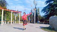秋葉廣場舞《中國歌最美》 口令分解動作教學演示