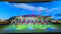 2019春晚厦门站·湛江雷州南湖巾帼健身队布达拉我来了表演团队版 完整版演示及口令分解动作教学