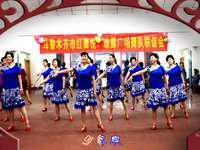 乌鲁木齐红舞悦舞蹈 月落泉 表演 口令分解动作教学演示