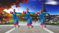湖南紫羅蘭廣場舞《為你等待》 正背面演示及口令分解動作教學