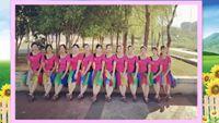 銀山村健身隊廣場舞《中國歌最美》集體版 正反面演示及分解動作教學