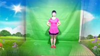 冰雪寒梅廣場舞《納西情歌》32步鬼步舞 口令分解動作教學