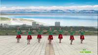 鑫舞慕顏廣場舞隊 雪蓮 表演 團隊版 正背面口令分解動作教學演示