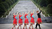 韋福強廣場舞《為你等待》優美藏族舞原創附教學 原創附教學口令分解動作演示