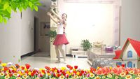 渭南竹韻廣場舞《納西情歌》 口令分解動作教學演示