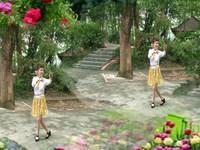 湘潭舞怪廣場舞 北江美 表演 個人版 正背面口令分解動作教學演示