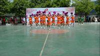 金水美調廣場舞《中國歌最美》十四人變隊形廣場舞舞臺 正背面口令分解動作教學演示