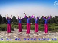 泛區魅影廣場舞 國韻 表演 編舞 王梅 正背面演示及慢速口令教學