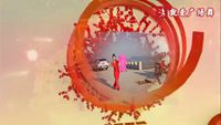 安陽火鳳凰廣場舞《拜新年》編舞:霓裳羽衣 正背面演示及口令分解動作教學和背面演