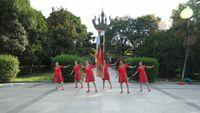 武漢鳳凰花園舞蹈隊《納西情歌》原創編舞世外桃源 經典正背面演示及口令分解動作教學