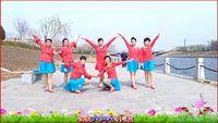 衡水阿梅舞蹈《最美的相遇》原创附分解,团队版附正背面口令分解教学演示