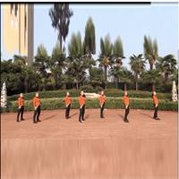 美久广场舞明星舞团 就是这个范儿 正背表演与动作分解 团队版 正背面演示及慢速口令教学