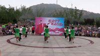 南戴河幸福快樂舞蹈隊《中國歌最美串燒》 原創附正背面教學口令分解動作演示