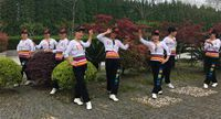 誓言廣場舞《擁抱你離去》原創附教學 雙人舞 正反面演示及分解動作教學
