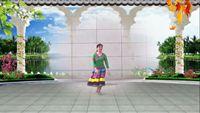 蘭州春韻廣場舞—納西族舞《納西情歌》編舞 世外桃源 正反面演示及分解動作教學