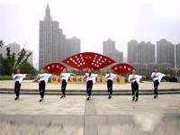 【青春无极限】安徽舞动彩虹广场舞 嘟拉 正背表演 团队版 口令分解动作教学演示