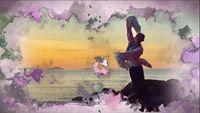 秦来财作品古典舞《葬花吟》演示:湖南梦与蝶舞蹈 正背面演示及口令分解动作教学和背面演
