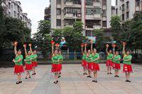 春之韻舞隊原創健身球和廣場舞混搭《中國歌最美》 完整版演示及口令分解動作教學
