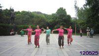 月亮之舞廣場舞  《孔雀公主》 正背面演示及口令分解動作教學和背面演