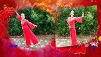 南陽和平廣場舞系列《國韻》團隊版附正背面口令分解教學演示