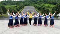 鳳凰六哥廣場舞《今生相愛》原創藏族舞附教學 正背面演示及口令分解動作教學