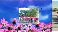 藍色廣場舞《中國歌最美》集體版 完整版演示及口令分解動作教學