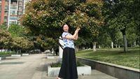 武漢玉珍廣場舞《半壺紗》 經典正背面演示及口令分解動作教學
