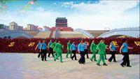 會寧紅葉紅廣場舞《社會搖》編舞-興梅,制作-舞動健康 原創附正背面教學口令分解動作演示
