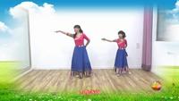 郭村小新廣場舞 《為你等待》(母女學跳藏族舞) 正背面演示及口令分解動作教學