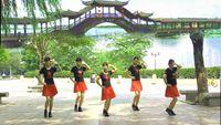 廣州飛雪廣場舞《哥哥妹妹》 正背面演示及口令分解動作教學