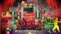湖北黃梅廣場舞協會裙舞飛揚廣場舞 雪蓮花 表演 正背面演示及口令分解動作教學