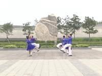 洛寧舞緣健身廣場舞 納西情歌 表演 正背面演示及慢速口令教學