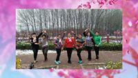 唐山迎迎廣場舞(七人)《花樓戀歌》編舞:鳳凰六哥 經典正背面演示及口令分解動作教學
