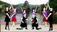 誓言廣場舞《好兄弟姐妹》編舞:誓言 單 雙對跳 正背面演示及慢速口令教學