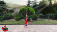 湘姐廣場舞《為你等待》編舞:王梅 正背面演示及口令分解動作教學