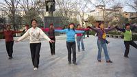 月亮之舞廣場舞  《中國歌最美》 附正背表演口令分解動作分解教學