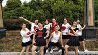 城城原创舞蹈《唱着情歌流着泪》城城团队演示学跳舞蹈 完整版演示及分解教学演示