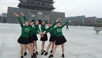 凤阳茉莉舞蹈《带你潇洒带你嗨》 正背面演示及口令分解动作教学和背面演