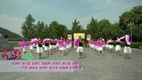 河南省信阳市浉河区秀秀广场舞队 绒花 表演 团队版 口令分解动作教学演示