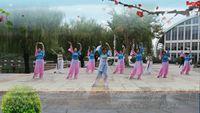青島平凡廣場舞《半壺紗》 編舞 糖豆舞蹈班 正反面演示及分解動作教學
