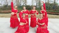 凤阳茉莉舞蹈新疆舞《巴郎仔》 正背面演示及慢速口令教学