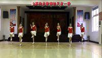 誓言廣場舞《林中鳥》原創附教學 超快動感健身舞64 正背面口令分解動作教學演示