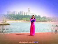 紅玫兒廣場舞 國韻 表演 編舞 王梅 正背面演示及口令分解動作教學和背面演